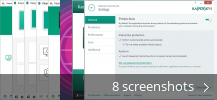 Screenshot collage for Kaspersky Internet Security