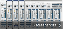 Screenshot collage for Harmony Engine VST
