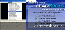 Screenshot collage for LEAD MPEG-4 Video Decoder