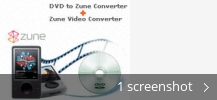 Screenshot collage for Zune Video Converter