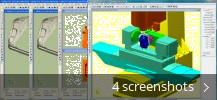 Screenshot collage for Predator Virtual CNC