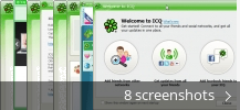 Screenshot collage for ICQ