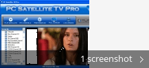 Screenshot collage for PC Satellite TV Pro