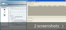 Screenshot collage for Softing License Manager
