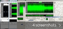 Screenshot collage for Sound Editor