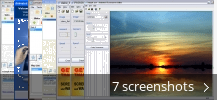 Screenshot collage for Animated Screensaver Maker