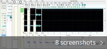 Screenshot collage for Audio MP3 Editor