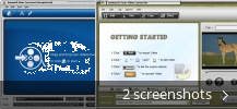 Screenshot collage for Daniusoft Zune Video Converter