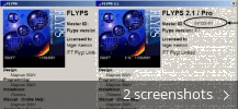 Screenshot collage for Flyps