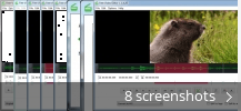 Screenshot collage for Free Video Editor