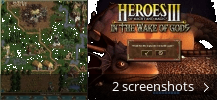 Screenshot collage for Heroes Of Might And Magic - In The Wake of Gods