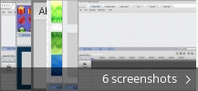 Screenshot collage for FoxArc Movie Editor