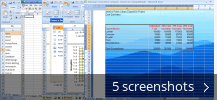 Screenshot collage for Microsoft Office Excel