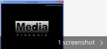 Screenshot collage for Free AVCHD Player
