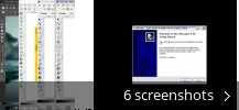 Screenshot collage for Inkscape