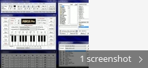 Screenshot collage for RMCA Realtime MIDI Chord Arranger