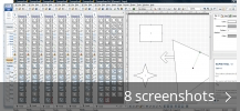 Screenshot collage for ConceptDraw Professional