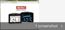 Screenshot collage for MoTeC C125 Dash Manager