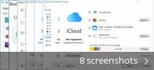 Screenshot collage for iCloud