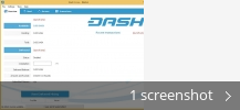 Screenshot collage for Dash Core
