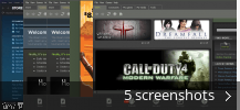 Screenshot collage for Steam