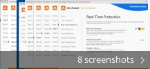Screenshot collage for Ad-Aware Free Antivirus +