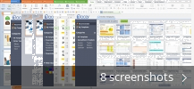 Screenshot collage for WPS Office 2016