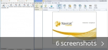 Screenshot collage for PremiumSoft Navicat for MySQL