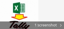 xltool excel to tally software