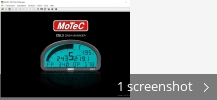 Screenshot collage for MoTeC CDL3 Dash Manager