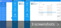 Screenshot collage for iMyfone iPhone Kik Recovery