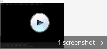 Screenshot collage for Media Player Plus
