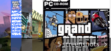 Screenshot collage for Grand Theft Auto: Vice City