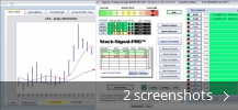 Screenshot collage for Stock-Signal-Pro TM