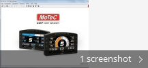 Screenshot collage for MoTeC C127 Dash Manager