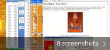 Screenshot collage for Kundli for Windows