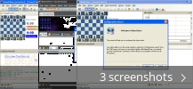 Screenshot collage for BabasChess