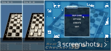 Screenshot collage for Real Checkers