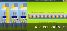 Screenshot collage for Math Games - Multiplication