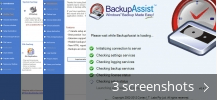 Screenshot collage for Windows Backup