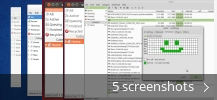 Screenshot collage for uGet Download Manager