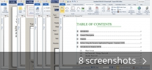 Screenshot collage for eXPert PDF Editor