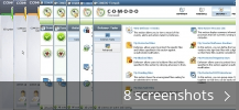 Screenshot collage for COMODO Internet Security