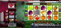 Screenshot collage for Ruby Fortune Casino