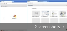 Screenshot collage for Google Chrome Portable