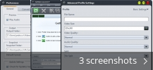 Screenshot collage for Full Video Converter