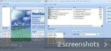 Screenshot collage for Word/Doc Txt to Image Jpg/Jpeg Bmp Tiff Png Converter