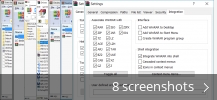 Screenshot collage for WinRAR