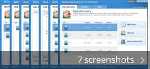 Screenshot collage for WinMend Data Recovery