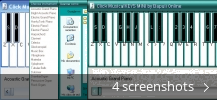 Screenshot collage for Click MusicalKEYS